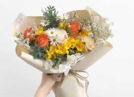 一组美美的小清新花束图片欣赏