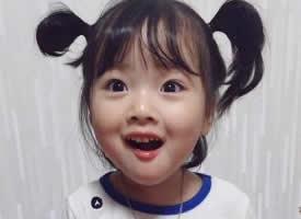 一组可爱的萌娃发型图片
