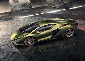 2020 兰博基尼 Lamborghini Sian图片欣赏
