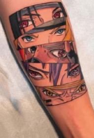 纹身火影忍者图案 18款动漫火影的纹身图案