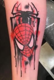 蜘蛛俠紋身 9張漫威系列的創意蜘蛛俠紋身圖案