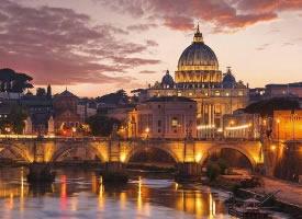 日落時分的意大利