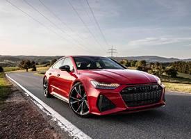 紅色新奧迪RS7圖片,越看越狠