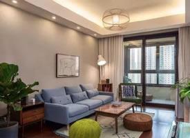 89㎡現代簡約兩居室裝修效果圖