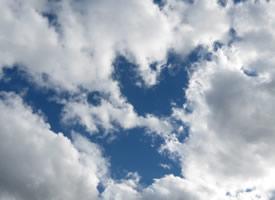 一組唯美的藍天白云美景圖片欣賞