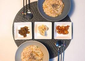 一組簡單的二人早餐圖片欣賞