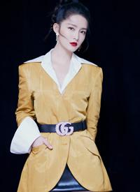 李沁時尚利落風格寫真圖片欣賞
