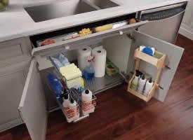 簡約整潔廚房設計