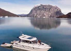美丽的格陵兰岛风景摄影图片