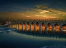 北京頤和園唯美風景桌面壁紙