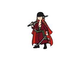 海賊王卡通手繪高清手機壁紙