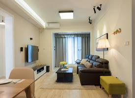76㎡現代簡約風格家居裝修設計