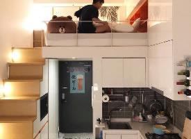 單身Loft公寓設計效果圖