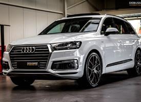 第一次見Audi Q7 E-Tron Hybride