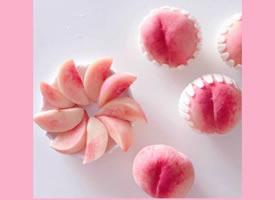 水蜜桃粉色系手機壁紙圖片