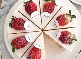 永遠無法對草莓奶油蛋糕說不