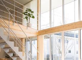 原木風LOFT設計案例,自然舒心