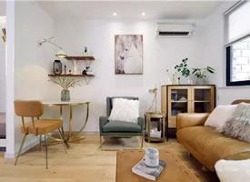 55㎡精致公寓,屬于小空間的時尚