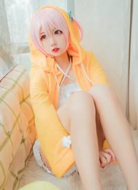 俏皮可爱萌妹cosplay诱人写真图片