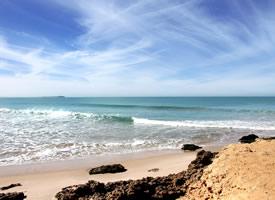 唯美海滩风景图片桌面壁纸