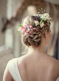 美美的新娘發型參考,留著以后結婚用