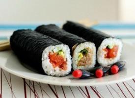 精致美味的壽司圖片