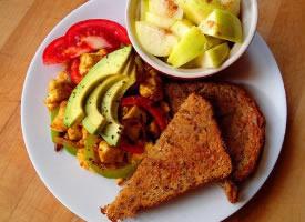 健康營養蔬果早餐