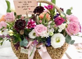 韓式小花籃圖片欣賞
