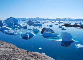 極寒冰川唯美高清桌面壁紙