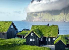 一组美丽的法罗群岛图片
