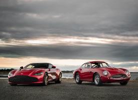 阿斯頓馬丁DBS GT Zagato,優雅又性感的側面線條讓人沉醉