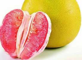 甜美、寒生津的柚子水果图片