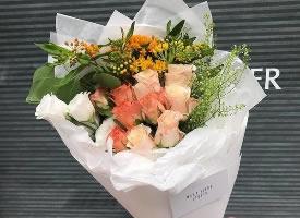 唯美浪漫的花束图片