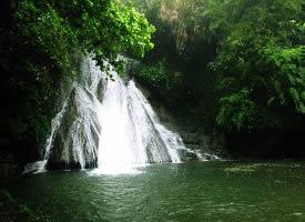 廣西桂林古東瀑布圖片欣賞