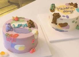 可愛的卡通蛋糕圖片