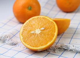 一組營養豐富的人切開的橙子圖片