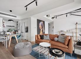 89㎡常規小戶型,打破傳統設計的北歐風格家居