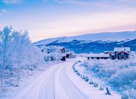唯美梦幻的冬日风景桌面壁纸