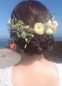 美膩的花式麻花辮編發圖片