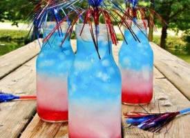 來一杯彩虹飲料,讓心情舒暢