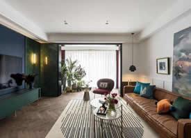 130㎡复古感现代装修 精致温馨的家