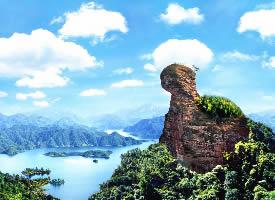 桂林華南第一峰貓兒山圖片