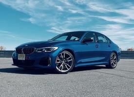 一組帥氣藍色的BMW M340i 圖片欣賞