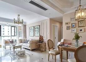 100平美式三居室,廳堂敞亮舒適極了 ? ??? ????