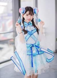 俏皮可愛美女cosplay撩人寫真圖片