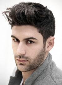 时尚而又有个性的男士发型