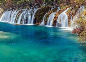 中国著名景点九寨沟山水风景图片