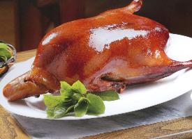 肉質細膩的北京烤鴨圖片