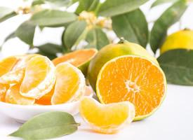 小清新護眼橘子桌面壁紙圖片