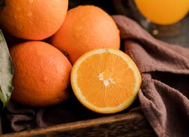 切開的橙子-橙子圖片大全唯美